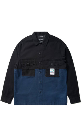 Split Button-Up