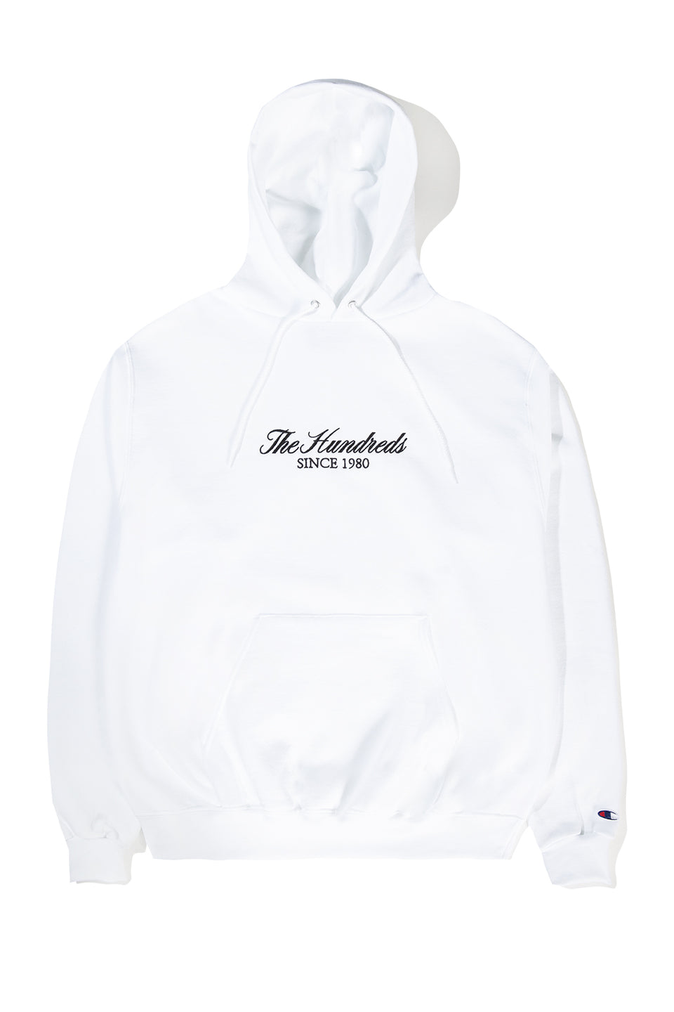 Rich Embroidery Champion Pullover Hoodie