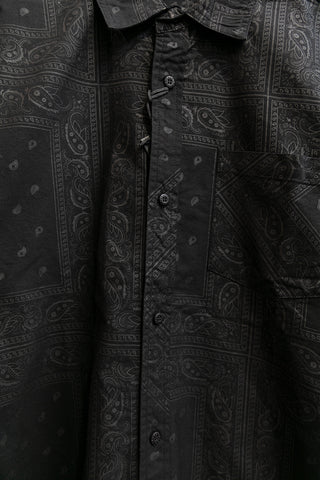 Paisley Button-Up