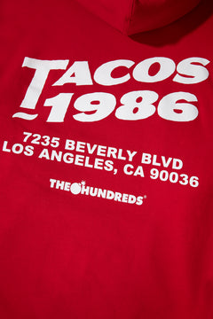 Beverly Tacos Pullover Hoodie