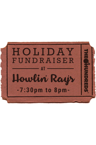 The Hundreds & Howlin' Ray's Holiday Fundraiser :: 12/19 7:30-8pm