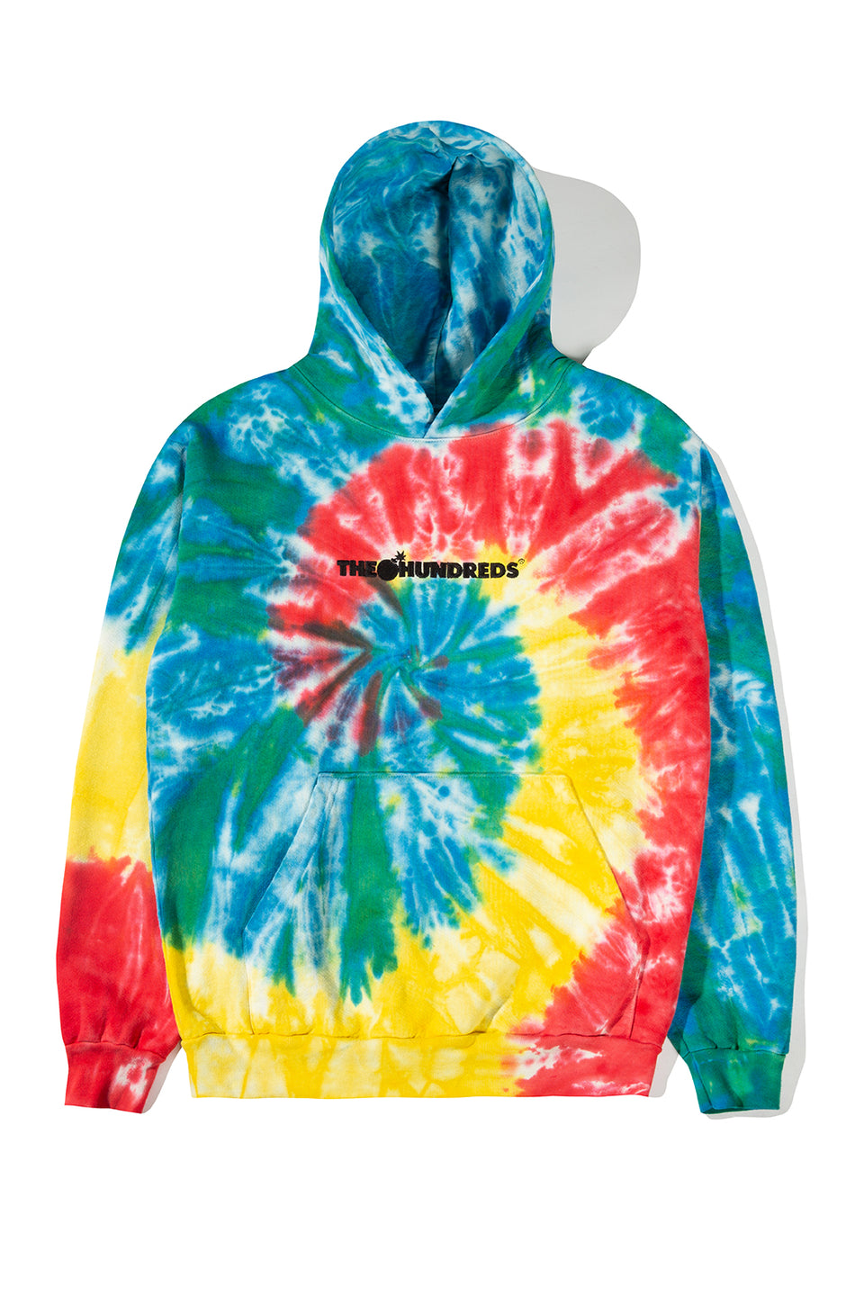 Bar Logo Tie Dye Pullover Hoodie by The Hundreds