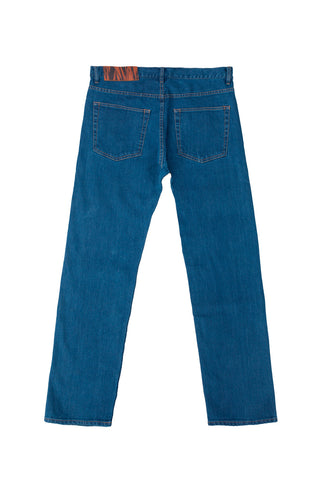 Blue Wash Denim (Straight)