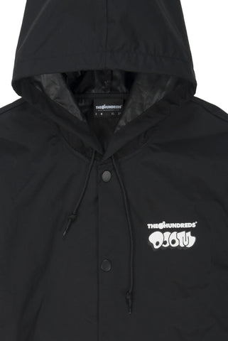 Mask Hooded Coach's Jacket