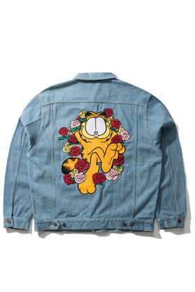Garfield Roses Denim Jacket