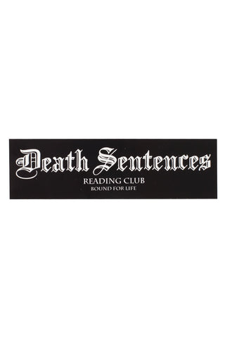 OG Death Sentences Bar Logo Sticker
