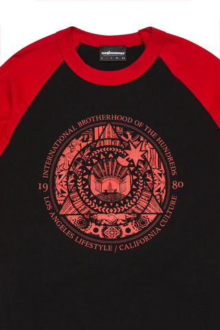 Society Seal Raglan