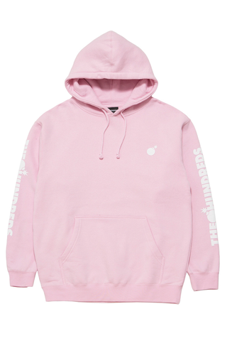 Solid Bomb Crest Pullover Hoodie