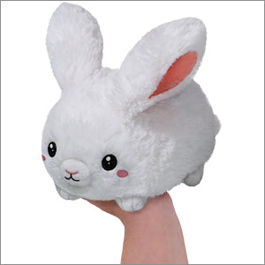 Mini Squishable White Bunny