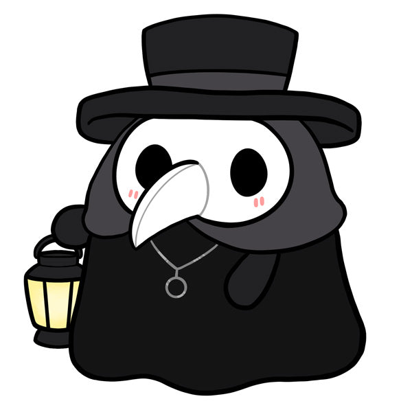 Mini Squishable Plague Doctor - Available for PRE-ORDER!