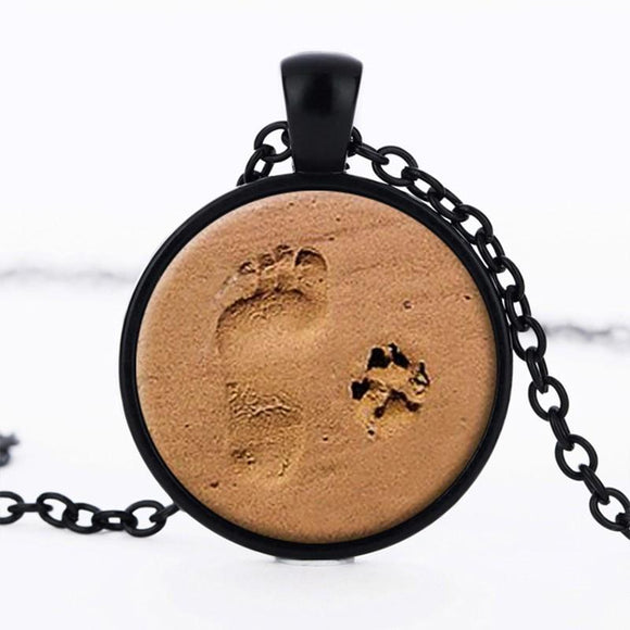 e-millennialstore Necklace Silver Plated Best Friends Walking Necklace
