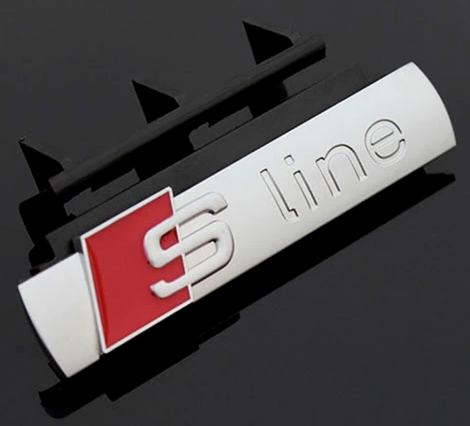 e-millennialstore S Line Front Badge For Your Ride! (FREE SHIPPING)