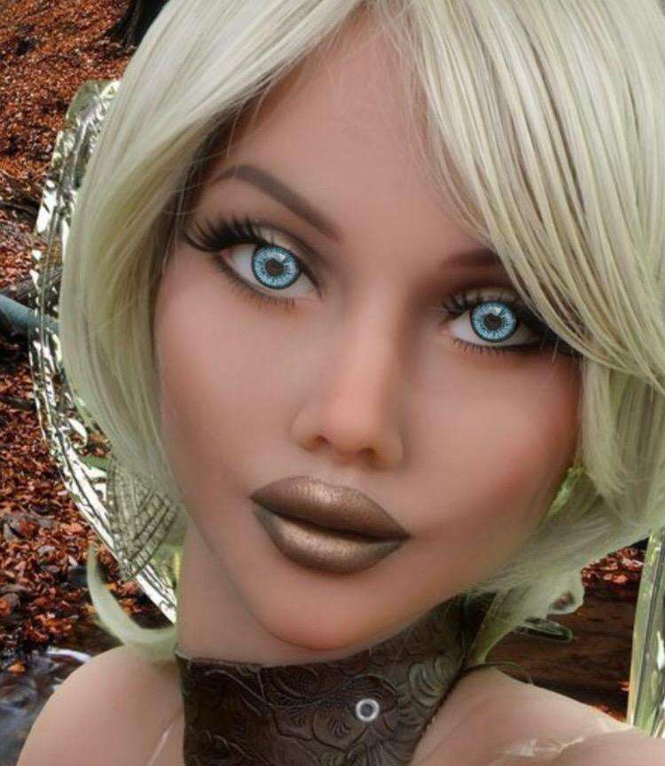 Blue Replacement Eyes For Sex Dolls