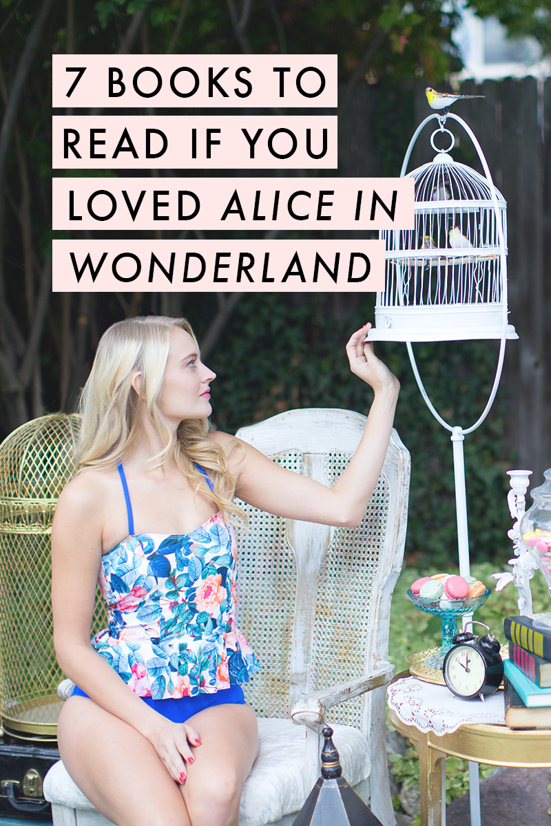 Books to read if you loved Alice in Wonderland - definitely adding all of these to my list! | Modest swimwear inspired by Alice | limericki.com