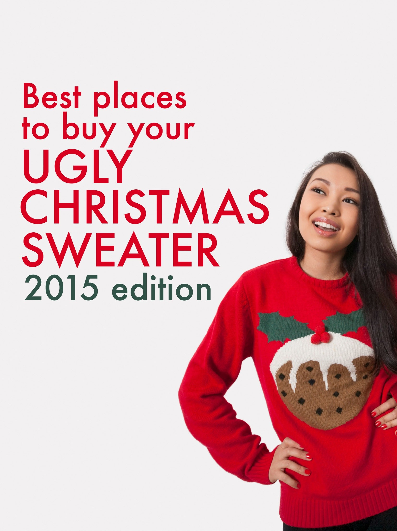 Best places to buy your ugly Christmas sweater