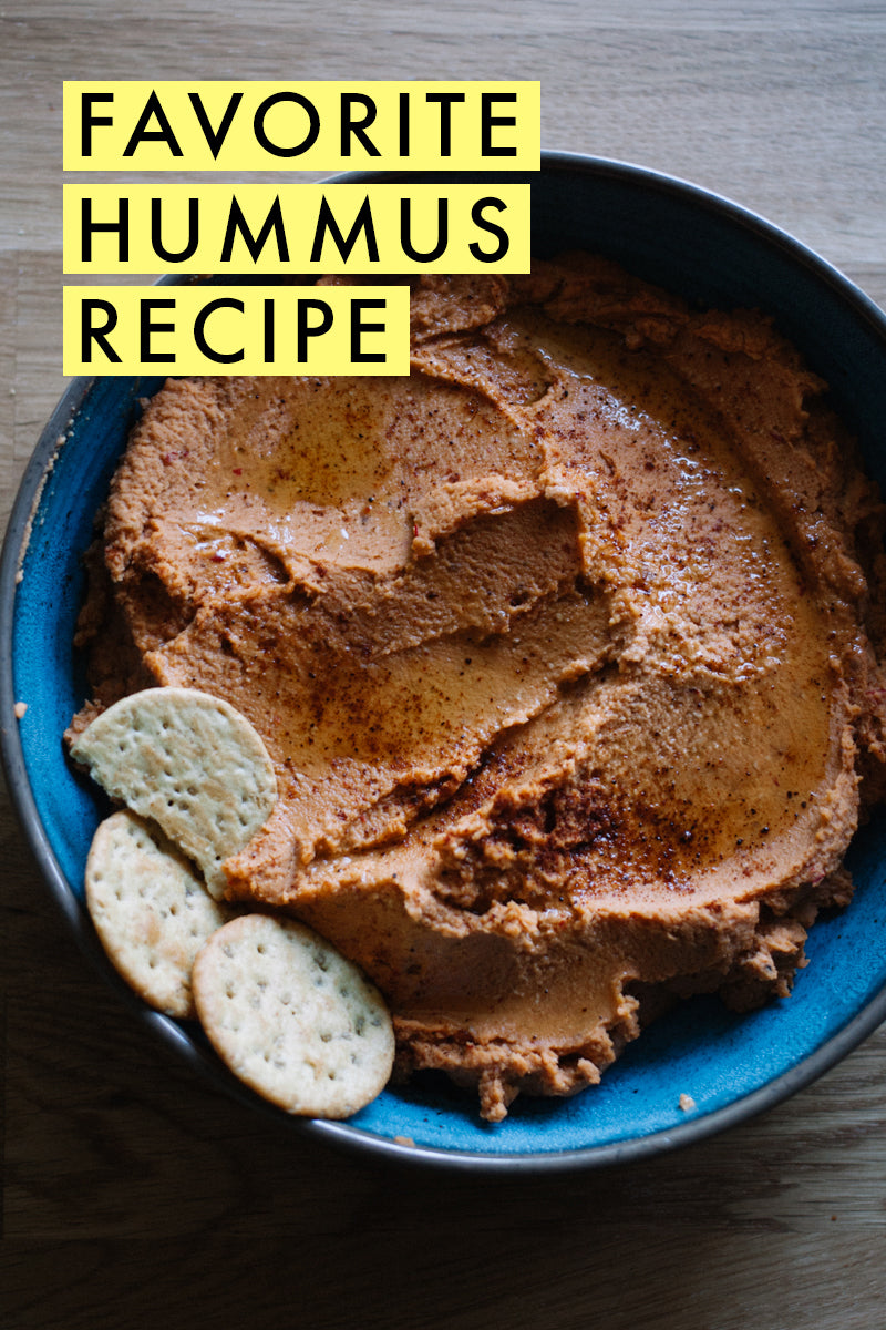 You need to give our favorite hummus recipe a try! So good! | Veggie dip | Find it at blog.limericki.com | #limericki #hummusrecipe
