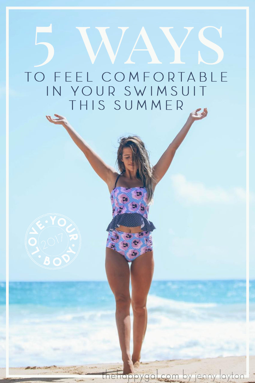 5 ways to feel comfortable in your swimsuit. Love this! | modest swimwear | limericki.com