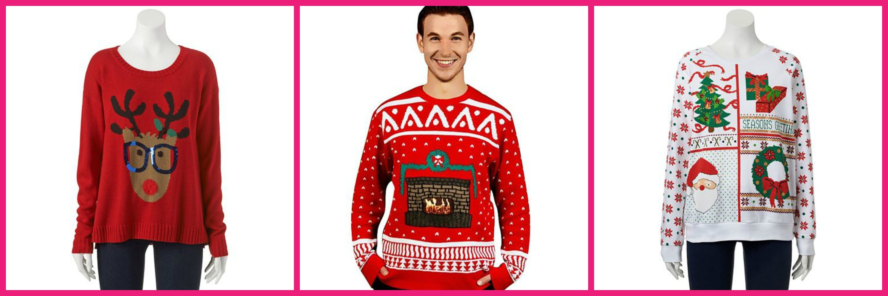 This is perfect! The best places to buy your ugly Christmas sweater!