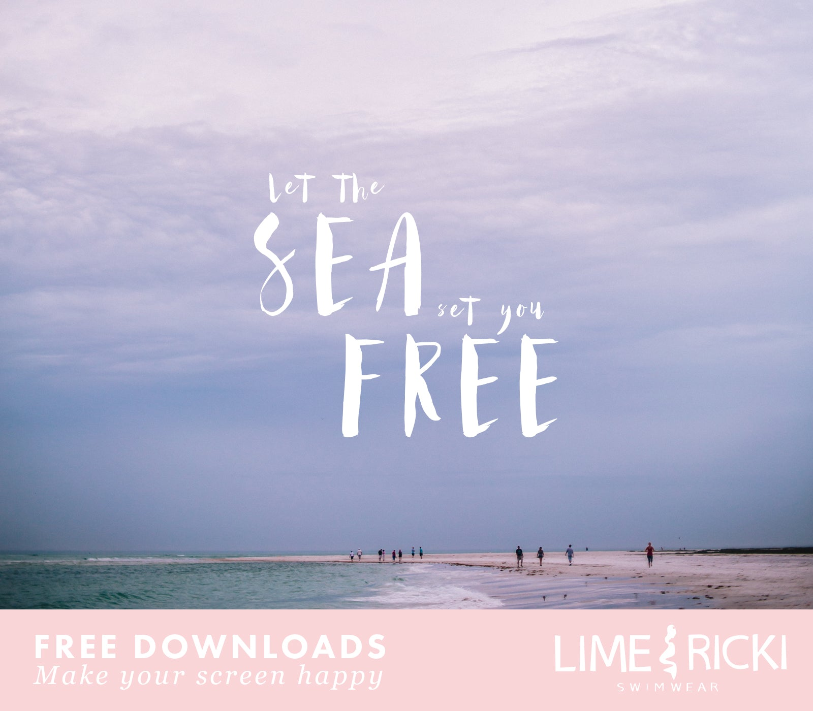 I need all of these! Cutest beach ready free desktop backgrounds!