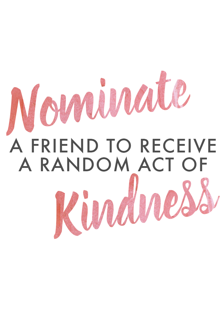 Nominate a friend to receive a random act of kindness this month with Lime Ricki! We'll be picking three ladies to win a free swimsuit!