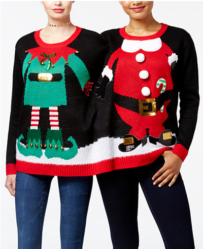 6 best ugly Christmas sweaters: 2017. I think I need them all! | Holiday jumpers | limericki.com