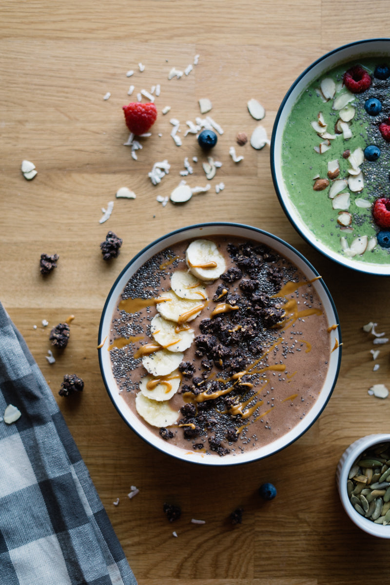 These smoothie bowls look absolutely delicious! | Breakfast recipes | limericki.com