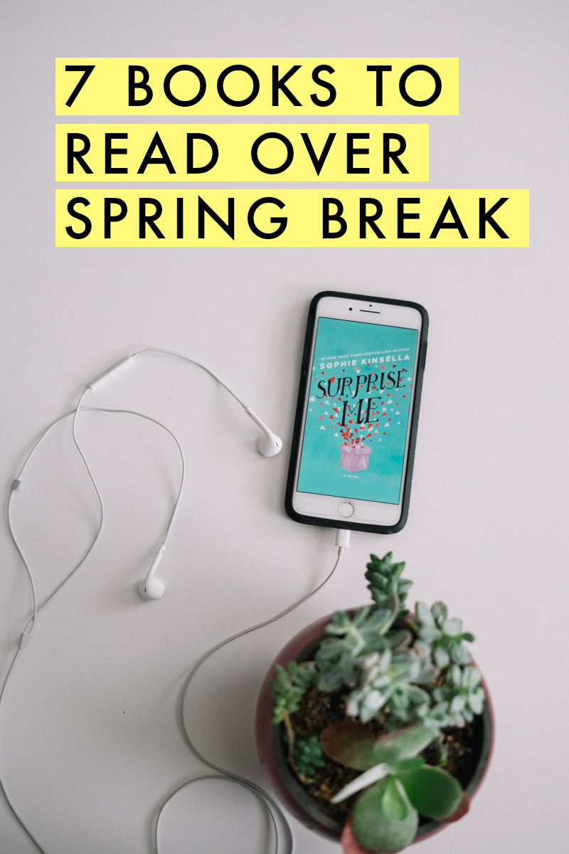 All these books to read over spring break - added to my list! | Beach reads | limericki.com