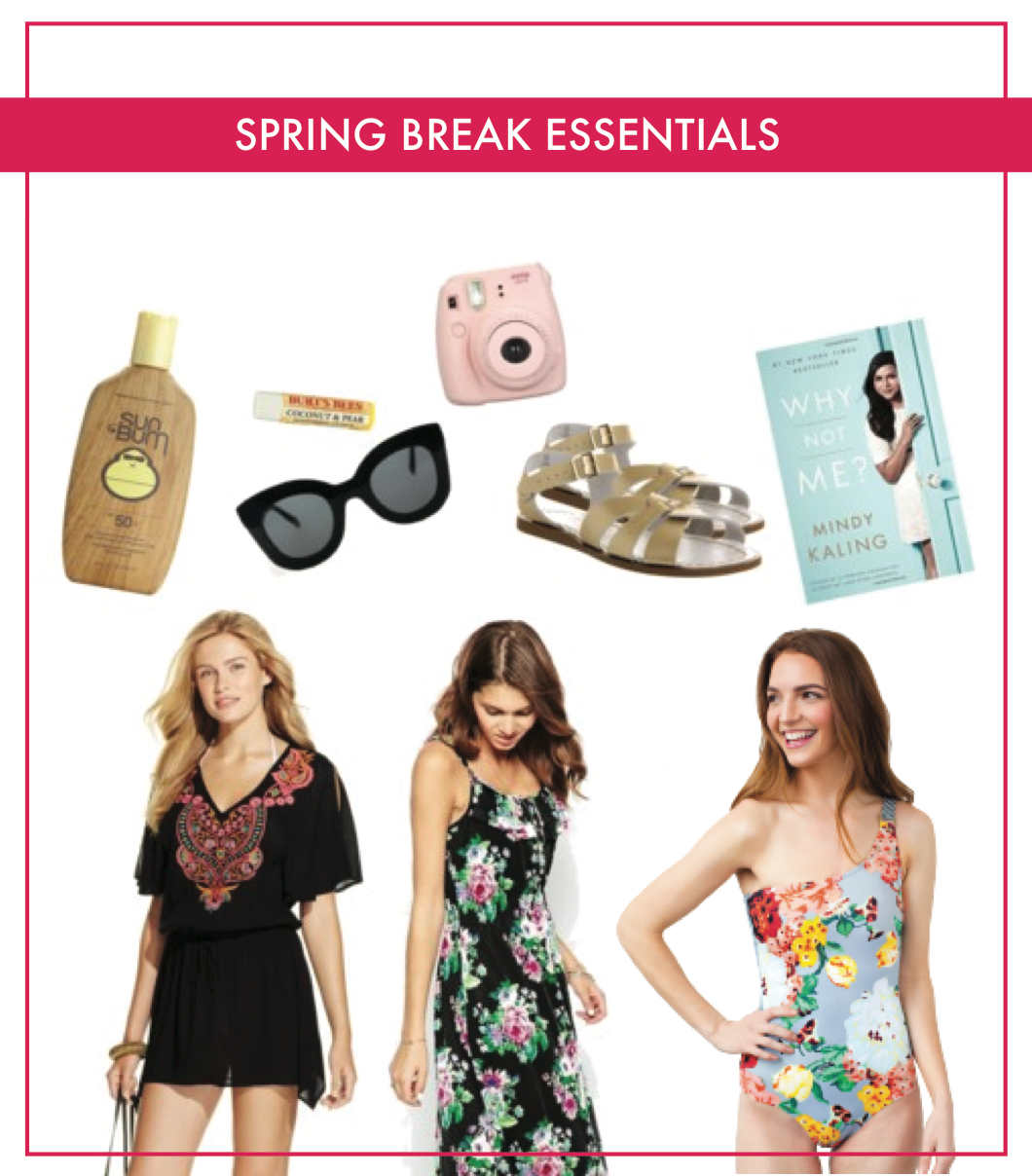 Need these spring break essentials for my trip!