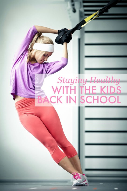 Staying Healthy with Kids in School