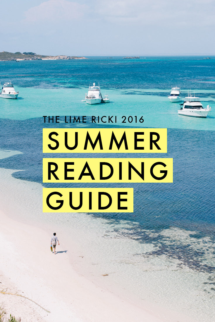 This has so many good books on it! (Summer 2016 Reading Guide)