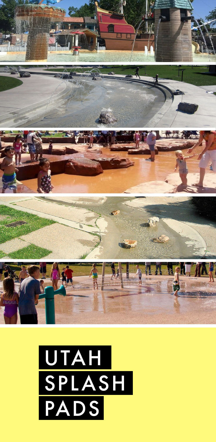 7 best Utah splash pads! Saving this!