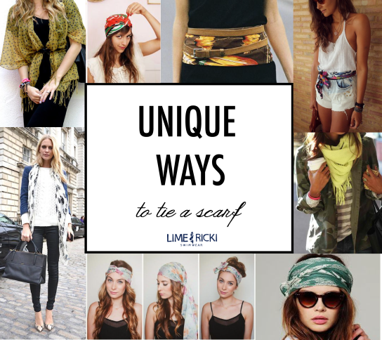 Unique Ways to tie a Scarf #fall
