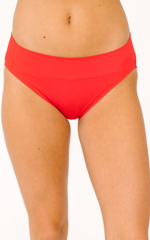 Red Classic Bottom