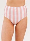 Candy Stripe High-Waist Bottom