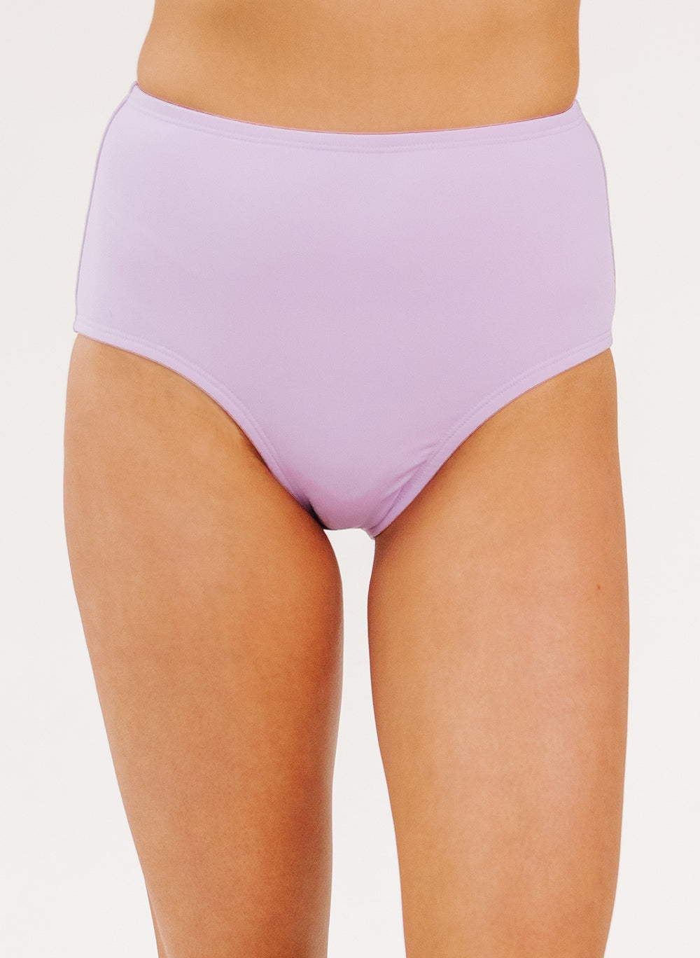 Lavender High-Waist Bottom