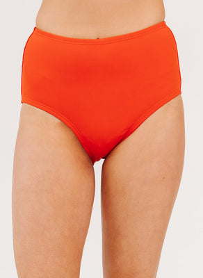 Persimmon High-Waist Bottom