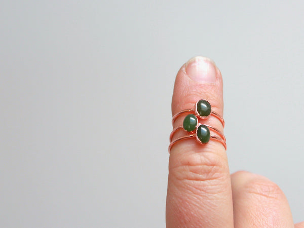 Jade Ring | March Birthstone Alternative