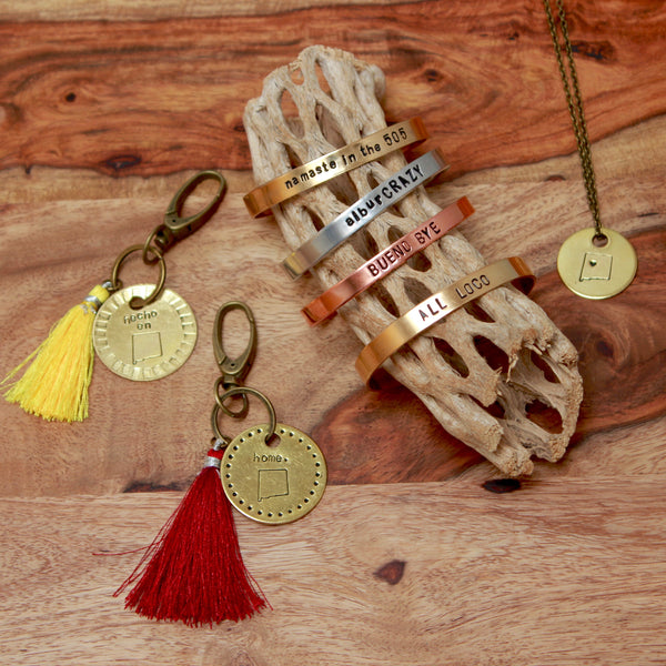 New Mexico Keychain | Made in NM-Extras-Drishti Handmade