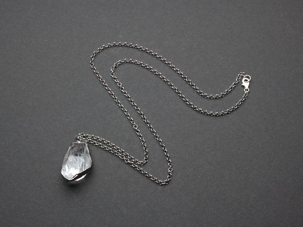Quartz Necklace | OOAK-Necklace-Drishti Handmade