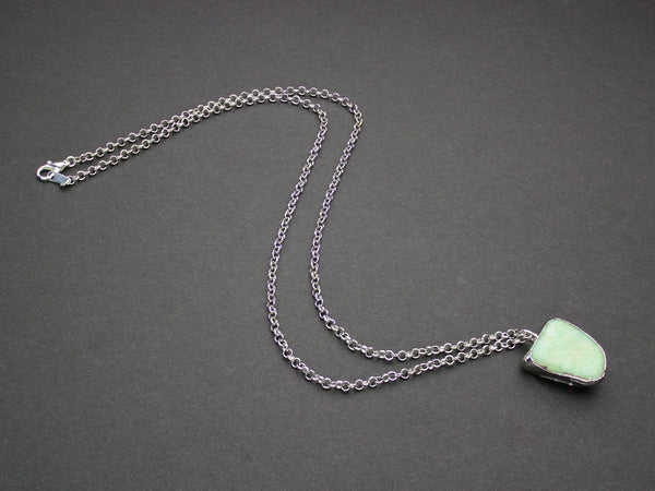 Amazonite Necklace | Limited Run-Necklace-Drishti Handmade