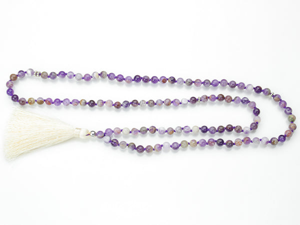 Amethyst Mala | 108 Prayer Beads | Limited Run-Mala-Drishti Handmade