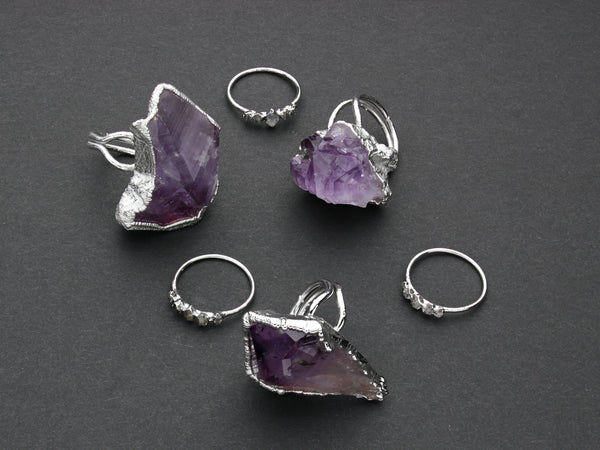 Amethyst Statement Ring | Limited Run