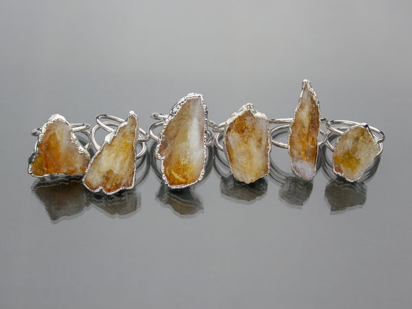 Large Citrine Ring | Limited Run