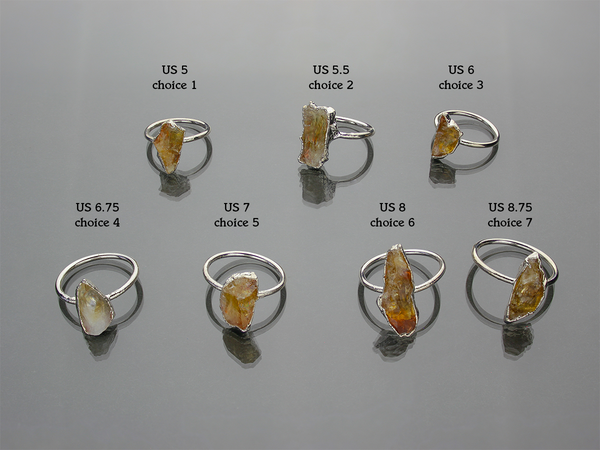 Citrine Ring | Limited Run