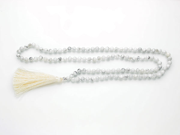Howlite Mala | 108 Prayer Beads | Limited Run