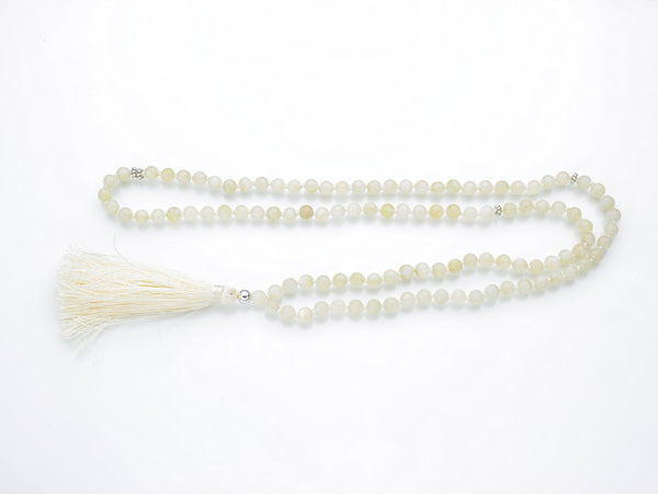 Moonstone Mala | 108 Prayer Beads | Limited Run-Mala-Drishti Handmade