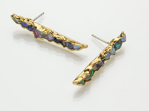 Opal Earrings | October Birthstone