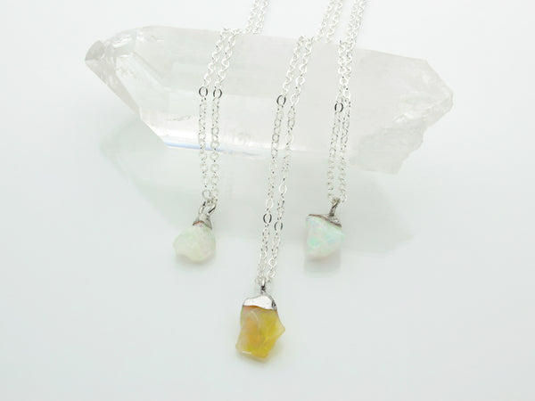 Opal Necklace | October Birthstone | Limited Run