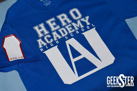 My hero Academia school exclusive t-shirt - Geeks-ter