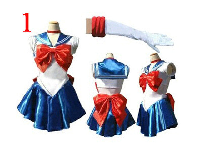 7styles Sailor Moon Cosplay  Sango Minako & Sailor Neptune & Sailor Mars Full Set Battleframe - Geeks-ter